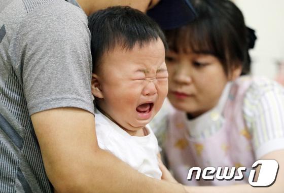눈물 부르는 독감 예방주사
