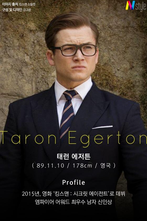 [N스타일 私心코너] '킹스맨2' 태런 에저튼의 사복 패션은?
