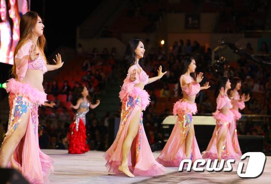 '미녀들의 밸리댄스'