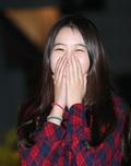 류한비, '소녀 미소'