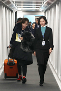 '제가 인천공항 제2여객터미널 첫번째 이용객 입니다'