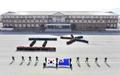 평창동계올림픽 성공개최 기원하는 해군 훈련병들
