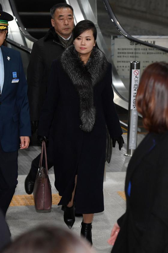 현송월, 패션 스타일 시선집중 '콘셉트는 럭셔리?'