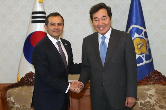 李총리, 멕시코 상원의장 만나 북핵·평창 협력 당부