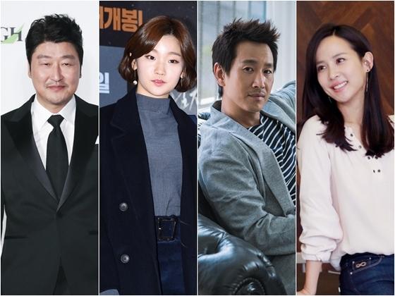[공식] 봉준호 '패러사이트', 송강호·이선균·박소담 등 8人 확정