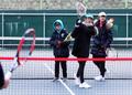 한국에 부는 '테니스 열풍'