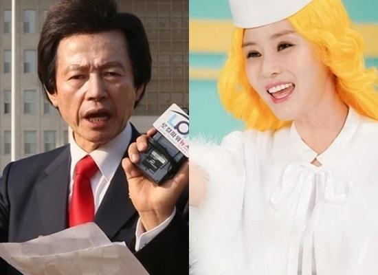 """공화당 신동욱 총재 """"허경영·최사랑 스캔들 제보"""""""