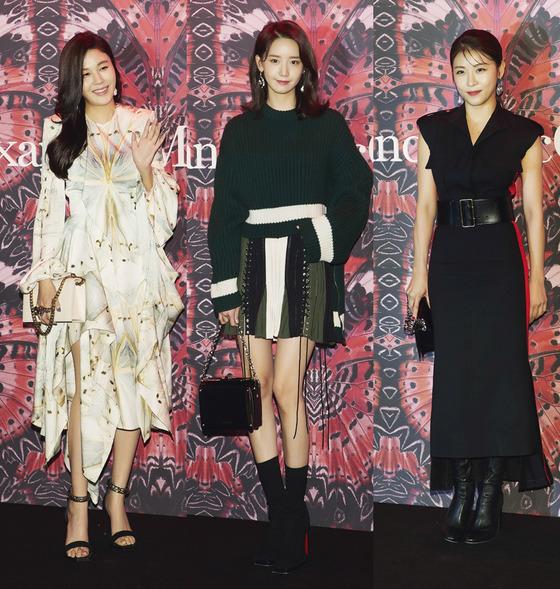 김하늘VS윤아VS하지원, 고혹美 넘치는 '가을 패션' 승자는