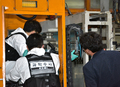 삼다수 공장 현장 감식 벌이는 경찰