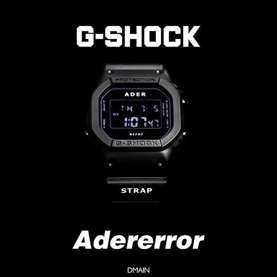 지샥(G-SHOCK) X 아더에러(Adererror), 컬래버 제품 출시