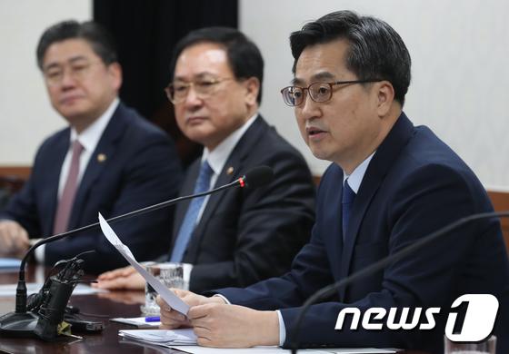 """김동연 """"2기 경제부처·靑 더욱 한팀…혁신성장 성과 내길"""""""