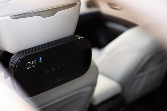 에어비타, '세계 최초' 필터 씻어쓰는 차량용 공기청정기 출시