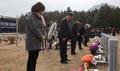 독도대첩 기념, 참배하는 독도의용수비대 유가족들