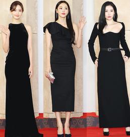 아이유·윤아·수지·쯔위...'2018 AAA' 레드카펫 빛낸 '화려 드레스룩...