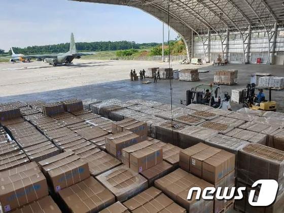 공군, 인도네시아 지진 피해 2차 구호임무 완료