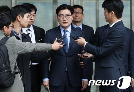 공직선거법 위반 이정훈 강동구청장 \'구속여부 갈림길\'