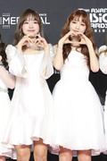 조유리-김채원, 쌍둥이처럼 닮았죠?