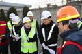 선로전환기 안전 당부하는 김현미 장관