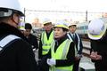 선로전환기 실태 점검하는 김현미 장관