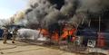 충남 예산 수덕사 입구 상가 화재...3억5천만원 피해