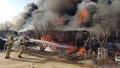 예산 수덕사 입구 상가 화재 발생...3억5천만원 피해