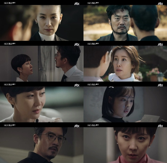 [N시청률] '스카이캐슬' 김보라, 정준호 친딸…파격전개 9.5% 자체 최고