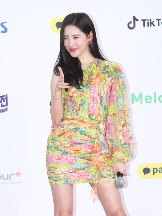 """[공식입장] 선미 측 """"알약 사진, 촬영 소품…눈물 단순 감정"""""""