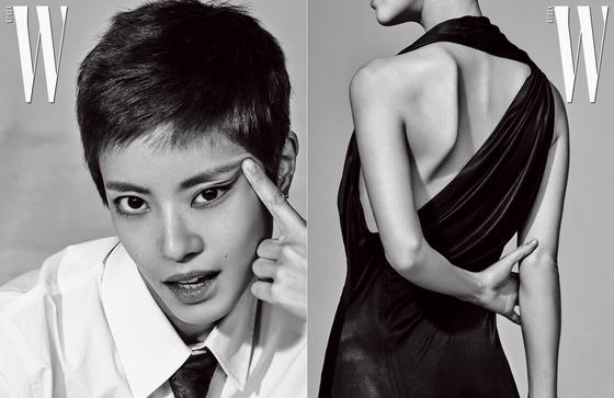 "[N화보] 이윤지, 멋짐+시크함 공존하는 숏커트 공개 ""리셋한 기분"""