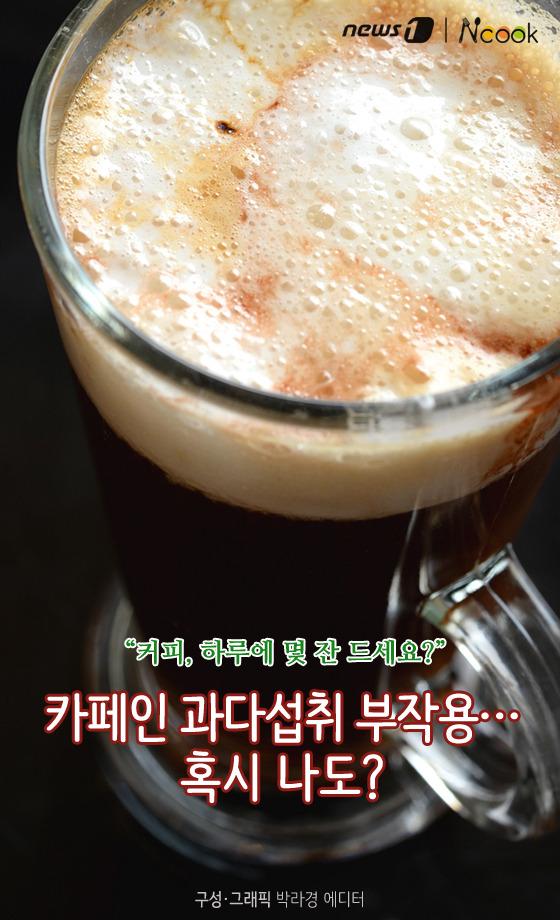 [카드뉴스][건강N쿡]카페인 과다섭취 부작용…혹시 나도?