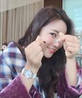 이보미,  돋보이는 미모 속 '손가락♥'…그에게?