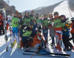 마식령 스키장에서 하나 된 남과 북
