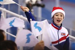 평창올림픽 달구는 북한응원단
