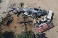 [사진] 멕시코 헬기 추락…지상의 13명 날벼락 '참변'