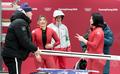 김유란-김민성 '조금은 아쉬운 레이스'