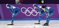 고개 떨군 대한민국 여자 팀추월, 최하위로 올림픽 마감