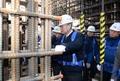 백운규 장관, 신고리 5·6호기 건설현장 점검