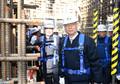 신고리 5·6호기 건설현장 점검나선 백운규 장관