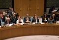 [사진] 발언하는 주 유엔 러 대사…바라보는 헤일리 대사