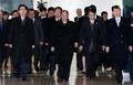 북한 고위급 대표단 도착