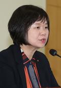 전국위원회 발언하는 이정미 대표