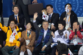 패럴림픽 아이스하키 경기장 찾은 문재인 대통령
