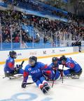패럴림픽 아이스하키 '동메달 차지'