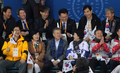 문재인 대통령 내외 '패럴림픽 경기 즐거워요'