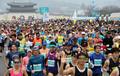광화문광장 출발하는 서울국제마라톤대회 참가자들