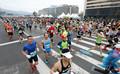 광화문광장 가득 메운 마라톤대회 참가자들