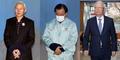 '특활비 뇌물 의혹' 같은날 법정 출석한 전 국정원장 3인