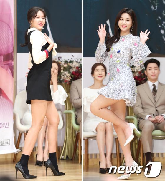 혜정-솔빈, \'걸그룹 출신 연기자들의 아찔 매력 대결\'