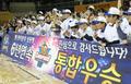 우리은행 여자농구 역사상 V10 대기록
