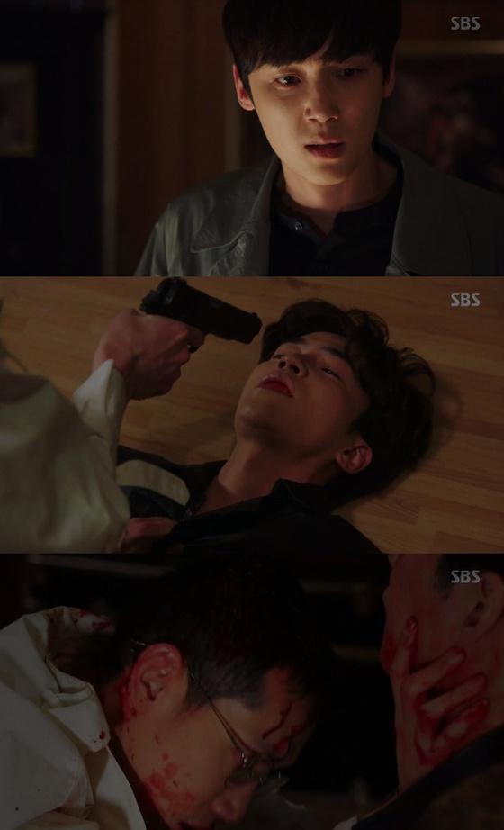 '리턴' 윤종훈, 이성 잃고 봉태규 살해…신성록 경찰에 무죄 주장
