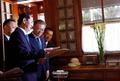 문재인 대통령, 호찌민 전 국가주석 관저 방문